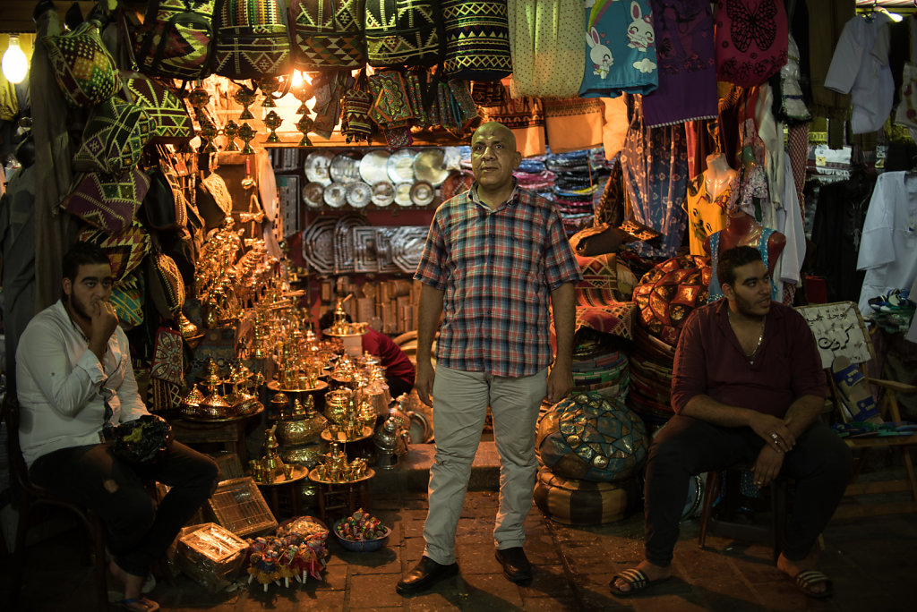 """""""There's no market. We don't really have customers anymore. When they do come and ask for the price of a product, you'll tell them it's for 10 EGP and they'll tell you no it's for five. To give you a small example, before I would buy 10 products to sell,"""